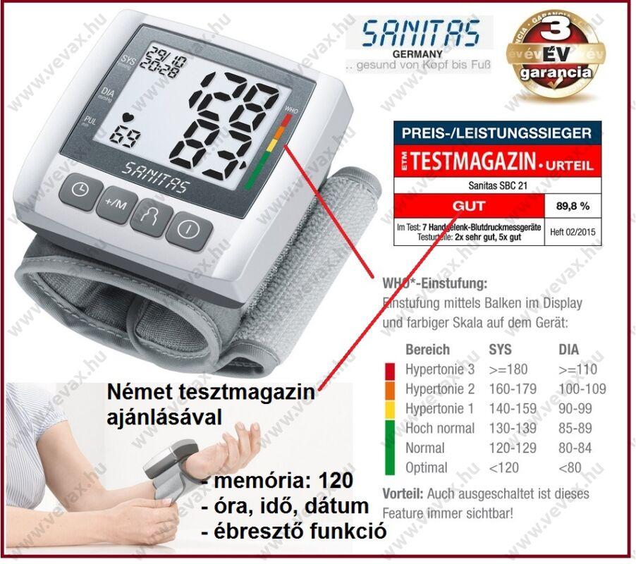 Sanitas vérnyomásmérő »-› ÁrGép