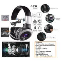 ProInstrument 6in1 BS LCD DIGITÁLIS BLUETOOTH FEJHALLGATÓ / FM / MIKROFONOS HEADSET / FM rádió / MP3 / 32GB SD TF / AUX / VEZETÉK NÉLKÜLI WIRELESS 3 év GARANCIA
