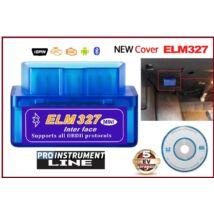 ProInstrument ELM327 OBD2 Iso BLUETOOTH HIBAKÓDOLVASÓ VEZETÉK NÉLKÜLI DIAGNOSZTIKAI MŰSZER WIRELESS MULTIPROTOKOLL 5 év GARANCIA