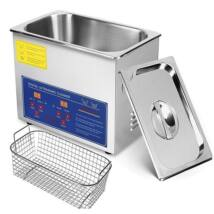 ProInstrument DigitaL40K INOX Heating IPARI 3 Literes 120W ULTRAHANGOS TISZTÍTÓ GÉP + MELEGÍTŐ FUNKCIÓVAL 20-80°C HŐFOKSZABÁLYZÓS DIGITÁLIS MOSÓ