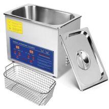 ProInstrument DigitaL40K INOX Heating IPARI 4 Literes 120W ULTRAHANGOS TISZTÍTÓ GÉP + MELEGÍTŐ FUNKCIÓVAL 20-80°C HŐFOKSZABÁLYZÓS DIGITÁLIS MOSÓ