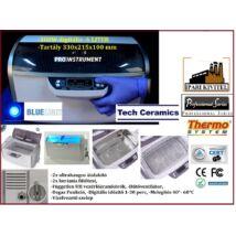 ProInstrument Heating IPARI 6 Literes 300W ULTRAHANGOS TISZTÍTÓ GÉP + MELEGÍTŐ FUNKCIÓVAL HŐFOKSZABÁLYZÓS DIGITÁLIS MOSÓ 5 programos
