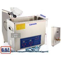 ProInstrument DigitaL40K INOX Heating IPARI 6,5 Literes 180W ULTRAHANGOS TISZTÍTÓ GÉP + MELEGÍTŐ FUNKCIÓVAL 20-80°C HŐFOKSZABÁLYZÓS DIGITÁLIS MOSÓ