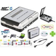ProInstrument USB MAGNÓKAZETTA MP3 DIGITALIZÁLÓ MAGNÓ KAZETTA GRABBER + MAGYAR NYELVŰ SZOFTWER + AJÁNDÉK FÜLHALLGATÓ