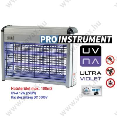 Elektromos rovarcsapda UV-A 100m2 12W 3000 V