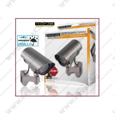 KÖNIG CCTV ÁLKAMERA KÜLTÉRI - BELTÉRI IP44 KAMU DUMMY KAMERA SEC-DUMMYCAM30 2 év GARANCIA